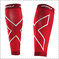 2XU Compression Calf Sleeves(両脚入) 赤