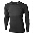 2XU RECOVERY Compression L/S Top 黒/黒