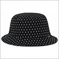 K1X Scribble Bucket Hat 黒/白
