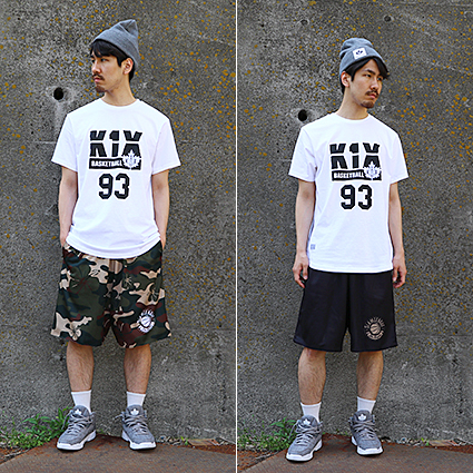 SLAM Hibis Camo RV Short ミリタリー/黒