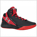 UNDER ARMOUR Charged Step Back 黒/赤