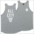 K1X All City Tank Top グレー