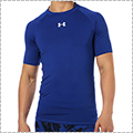 UNDER ARMOUR Heatgear Armour S/S ロイヤルブルー