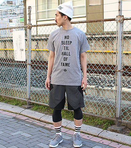 K1X Core No Sleep Tee グレー