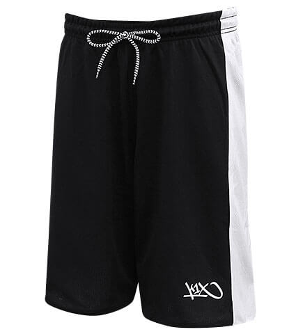 K1X Hardwood RV Game Shorts 白/黒
