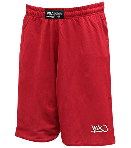K1X Hardwood RV Game Shorts 赤/白