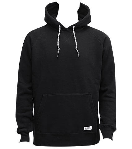 K1X Authentic Hoody 黒