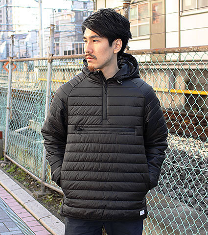 K1X Core Fastbreak Halfzip 黒
