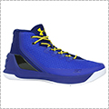 "UNDER ARMOUR Curry 3""DUB NATION HERITAGE"" ロイヤル/タクシー"