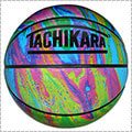 TACHIKARA Oil Slick Basketball マーブル