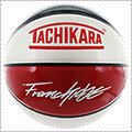 TACHIKARA Spinner's Franchise Basketball 赤/黒/白