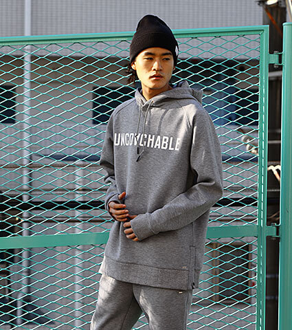 K1X Core Uncoachable Hoody グレー