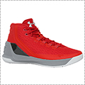 "UNDER ARMOUR Curry 3""TCC"" 赤/グレー"