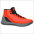 "UNDER ARMOUR Curry 3""RED HOT SANTA"" レッド/グラファイト/黒"