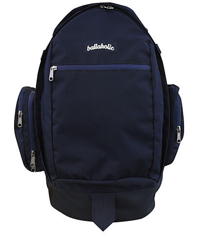 Ballaholic Ball on Journey Backpack 紺