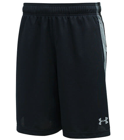UNDER ARMOUR Select 9inch Shorts 黒/スティール