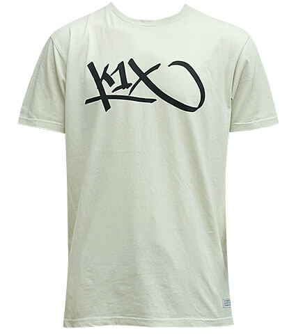 K1X Washed Vintage Tag Tee リリィホワイト