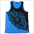 Jordan Wing Blockout Tank 黒/青