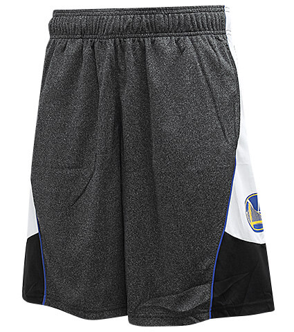 UNK NBA Focus on Top Shorts グレー/ウォーリアーズ