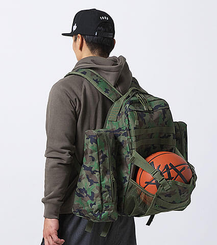 K1X On A Mission Backpack 2017 ウッドランドカモ