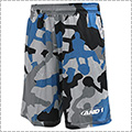 AND1 Allover Player Camo Short ブルー