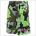 AND1 Allover Player Camo Short グリーン
