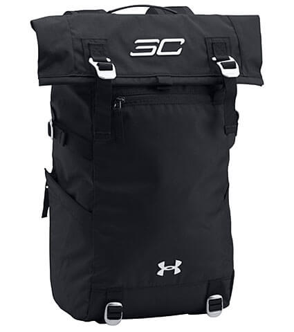 UNDER ARMOUR SC30 Rolltop Backpack 黒