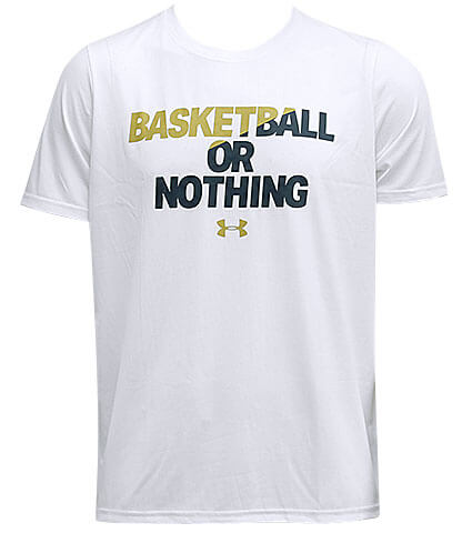 UNDER ARMOUR BBall or Nothing Tee JP 白