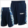AND1 Slit Playercamo Short 紺