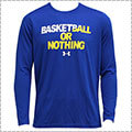 UNDER ARMOUR BBall or Nothing L/S ロイヤル