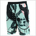 AKTR Abstract Shorts ライトブルー