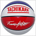 TACHIKARA Franchise Basketball Color of City レッド/ブルー/ホワイト