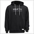 AKTR Basic Logo Sweat Pullover Parka 黒