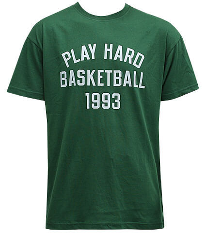 K1X Play Hard Basketball Tee フォレストグリーン