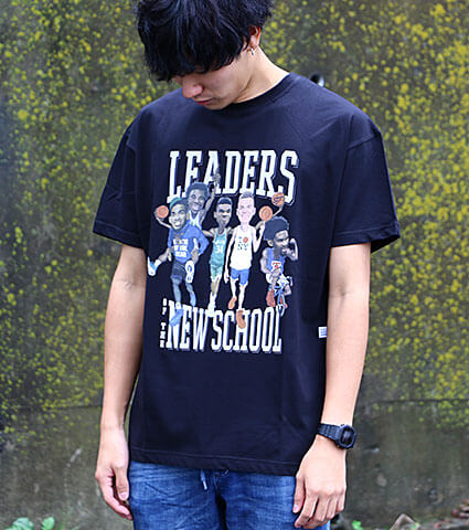 K1X Leaders Of New School Tee 黒