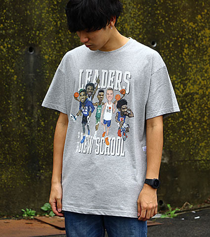 K1X Leaders Of New School Tee グレー