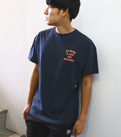 K1X One Court At A Time Tee 紺