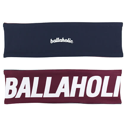 Ballaholic Reversible Headband 紺/クリムゾン