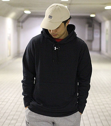 UNDER ARMOUR Team Unrivaled Hoody ミッドナイトネイビー