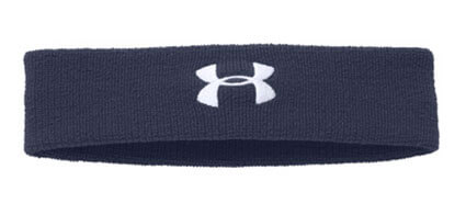 UNDER ARMOUR Performance Headband ミッドナイトネイビー