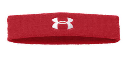 UNDER ARMOUR Performance Headband 赤