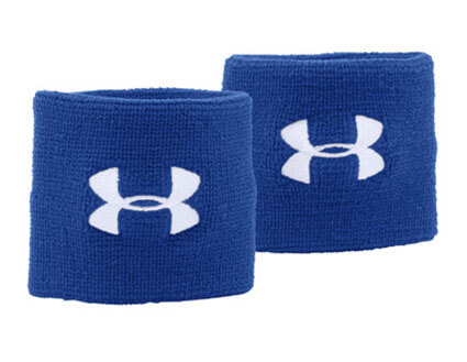 UNDER ARMOUR Performance Wristband(2P) ロイヤル