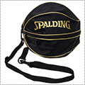 SPALDING Ball Bag 黒/ゴールド