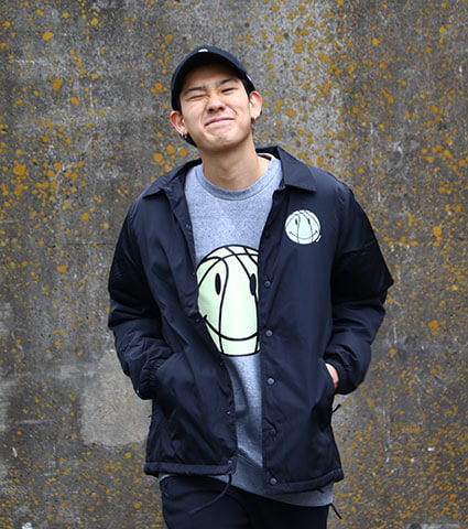 K1X Smile Coach Jacket 黒