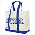 SPALDING Tote Bag DUKE 白/青