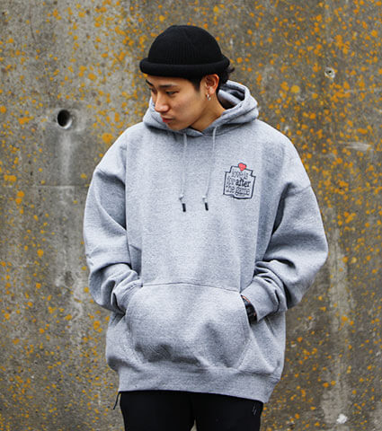 K1X Love is for After Hoody グレー