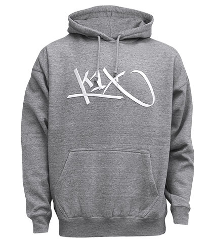 K1X Ivey Sports Tag Hoody グレー