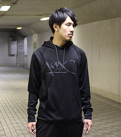 K1X Core All Day Tag Hoody 黒
