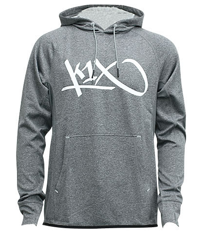 K1X Core All Day Tag Hoody グレー