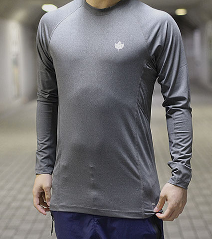 K1X Core Compression Longsleeve グレー
